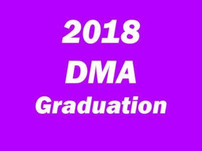 DMA Graduation 2018